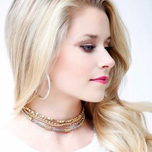 4 Layer Gold Choker